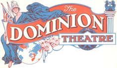 1929 Original DOMINION THEATRE logo