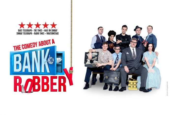 The Comedy About A Bank Robbery poster image
